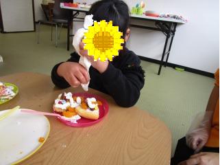 ケーキ作り8